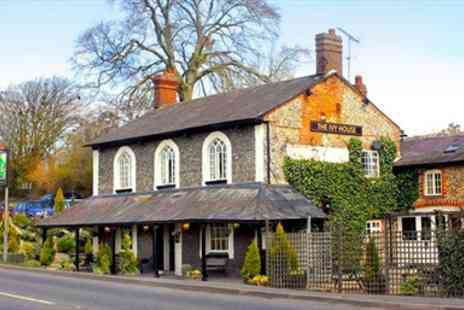 The Ivy House - Three Course Dinner with Bubbly - Save 59%