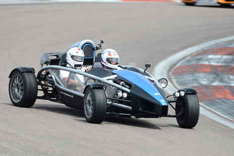 Supercar Sessions - Three passenger laps in an Ariel Atom - Save 42%