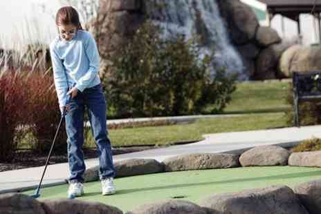 Rutland Watersports - Mini Golf For Family of Four - Save 50%