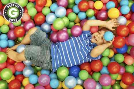 Kidz World Soft Play - Soft Play Entry Plus Lunch - Save 50%