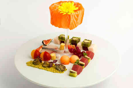 Sushi des Artistes London - Four Course Meal for Two People with a Bellini Champagne Cocktail - Save 52%