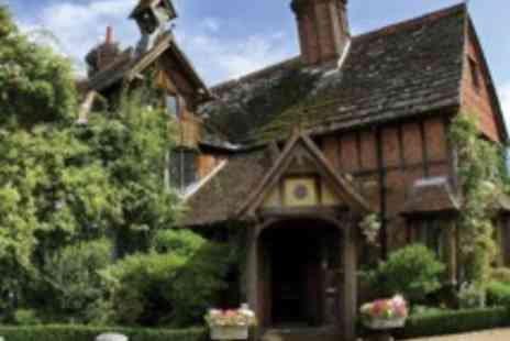 Langshott Manor - Elegant Surrey Manor House Stay with Five Course Tasting Menu - Save 49%