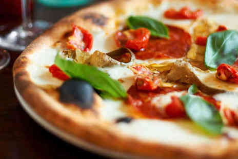 Ciao Bella - Pizza or Pasta Dish and Glass of Wine Each for Two - Save 60%