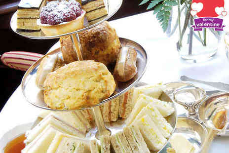 Bridge View Tearoom - Valentines Afternoon or Morning Tea for Two - Save 50%