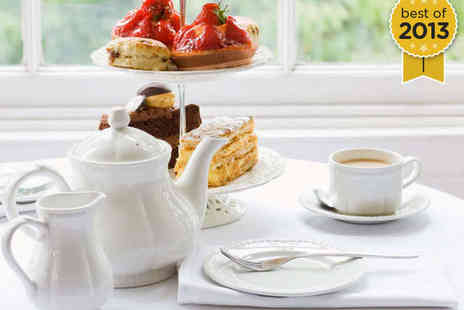 Hollin Hall Hotel - Afternoon Tea with a Glass of Bubbly Each for Two - Save 54%
