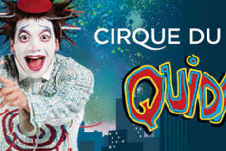 Cirque du Soleil - Ticket to See Cirque du Soleil's Quidam at the Royal Albert Hall - Save 20%