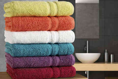 BlocBuy - Six Mayfair Towels - Save 69%