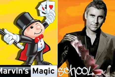 Marvins Magic School - Expert online Tuition with Top Magicians - Save 50%
