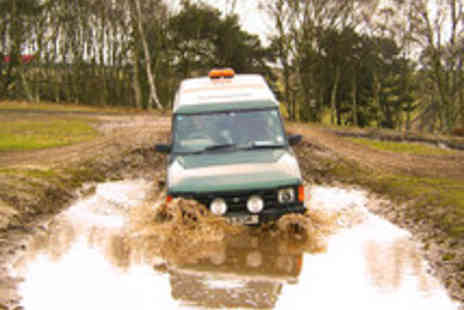 Nottingham Off Road Events - 30 minute 4x4 driving session for two - Save 55%