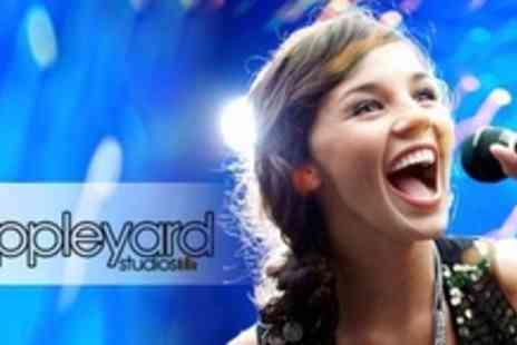 Appleyard Studios - Popstar Party for Up To Six Children with Vocal and Mic Training and Two Songs Recorded on CD - Save 71%