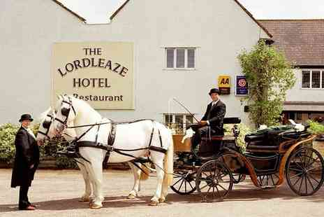 The Lordleaze Hotel - 2 Night Somerset Break With Local Cider & Breakfast - Save 64%