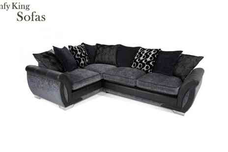 Comfy King - Shannon Left Or Right Hand Corner Sofas - Save 45%
