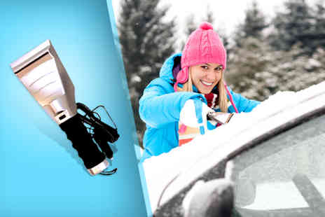 Gadgets and More - Heated ice scraper wipe the ice - Save 74%