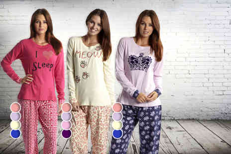 Kurt Muller - Ladies pyjamas in a choice of three styles - Save 48%