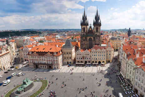 iFly Holidays - Two night Prague break  includsing flights - Save 49%