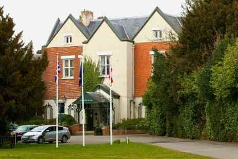 Coulsdon Manor Hotel - 2 Night Romantic Break For Two at Surrey - Save 63%