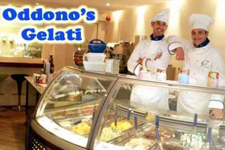 Oddono's Gelati - FREE Serving of Gelati - Save 100%