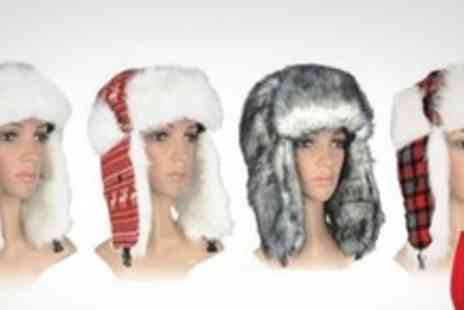 FuFu Fashion - Two Faux Fur Trapper Hats From a Choice of Styles - Save 70%