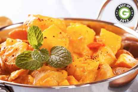 The original - Two Course Indian Meal - Save 55%