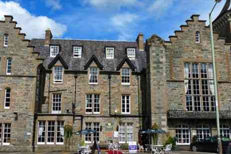Birnam Hotel - Historic Perthshire Escape with Dinner & Wine - Save 48%