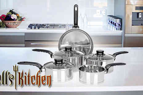 Irof Designs -  Hells Kitchen 5 piece pan set - Save 67%