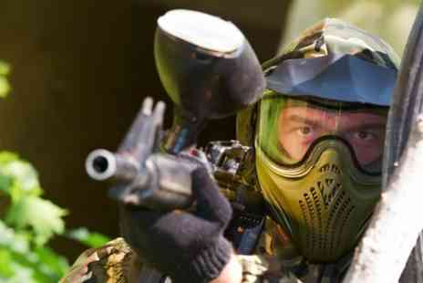 Southcoast Paintball - Paintball With 100 Balls For Two - Save 50%
