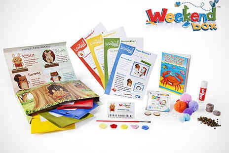 Weekend Box - Two Kids Activity Boxes with Equipment and Delivery Included - Save 53%