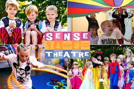 Sense Theatre Parties - 2 Hour Themed Parties From Sense Theatre For Up To 35 Kids - Save 50%