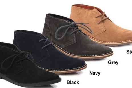 Unze - Chukka Style Desert Boots including P&P - Save 50%