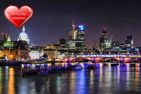 Thames River Tours - Valentines Thames cruise with BBQ supper glass of bubbly & night club entry  - Save 62%