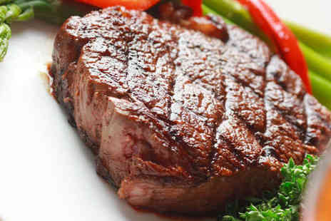 Ibrahims Grill and Steak House - Meal with Side Dish and Soft Drink Each for Two - Save 61%