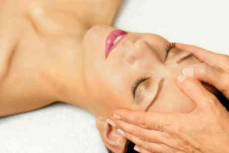 OM Holistic Therapies - Nu Skin Galvanic Spa Non Surgical Face Lift with Aromatherapy or Indian Head Massage - Save 75%