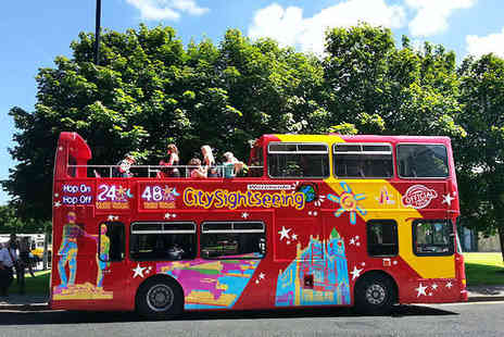 City Sightseeing - Derry City Bus and Walking Tour for Two People - Save 55%