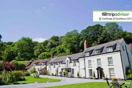 Combe House Hotel - Two night break for 2 including cream tea - Save 43%
