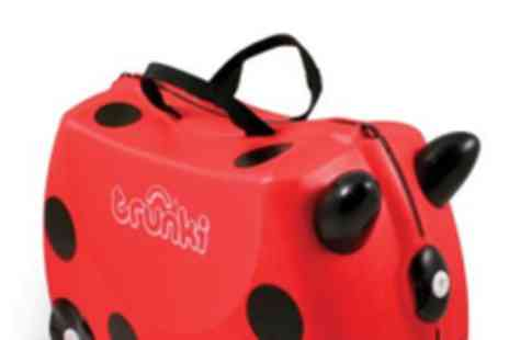 Trunki - Ride on hand luggage - Save 50%