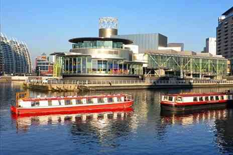 City centre cruises - Half Hour Canal Cruise With Two Course Lunch For Two - Save 57%