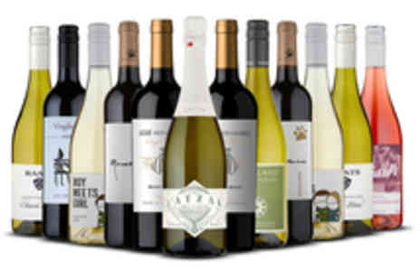 Naked Wines - Voucher for a Mixed Case Featuring 12 Select Bottles of Wine - Save 61%