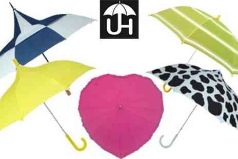 Umbrella Heaven - Stand out of the crowd & stay Dry with this Umbrella - Save 50%