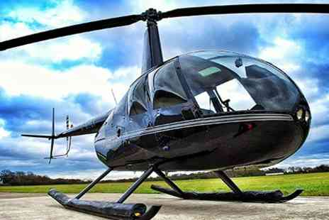 Heli Air - Helicopter Buzz Flight For One - Save 52%