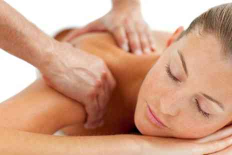Hibiscus Therapy -  Massage With Foot Scrub and Herbal Tea - Save 53%