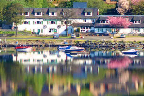 Clachan Cottage Hotel - Two Night Loch Side Stay for Two People with Breakfast - Save 62%