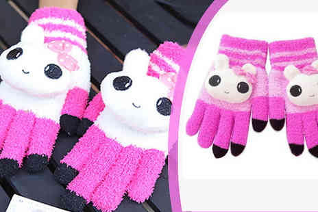Spa Shopping Limited - Animal designed touch screen gloves  - Save 85%