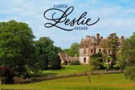 Castle Leslie Estate - One Night Romantic Stay For Two With Spa, Breakfast and Bubbly - Save 56%