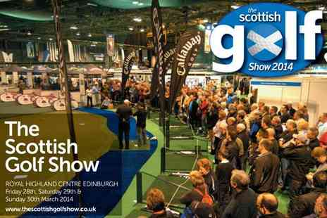 The Scottish Golf Show - Scottish Golf Show ticket with three rounds of golf - Save 20%