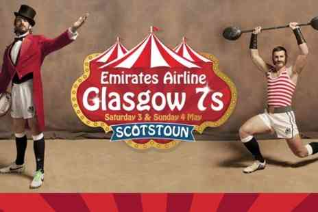 Scottish Rugby -  Emirates Airline Glasgow Sevens Tickets - Save 18%