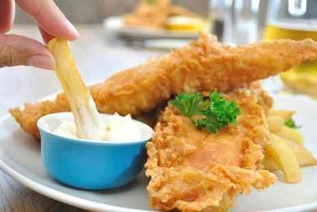 The Blackbird Inn - Fish and Chips Plus Coffee For Two - Save 61%