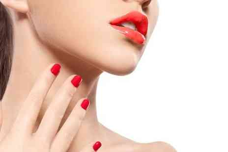 Synerje - Shellac Nails Plus Mani or Pedi - Save 50%