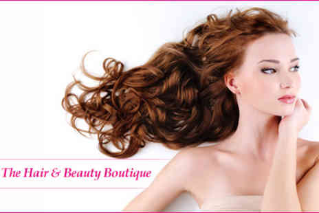 The Hair & Beauty Boutique - £9 for a wash, cut, restyle and finish with scalp massage and conditioning treatment - Save 80%