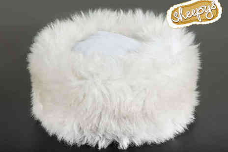 Sheepys - Handmade Cossack Style Authentic Sheepskin Hat - Save 52%