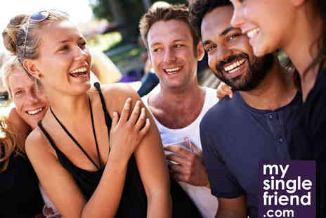 MySingleFriend - Three Month Membership to MySingleFriend - Save 51%